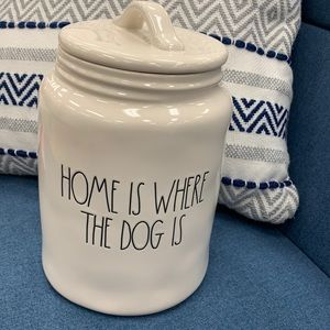 Rae Dunn Home is where dog is brand new